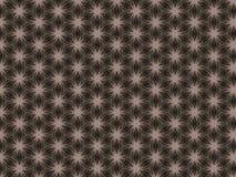 Uwarstwiający narzut z symetrycznym geometrycznym wzorem fotografia stock