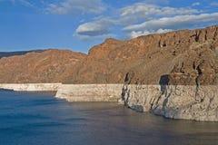 uwarunkowywać suszy jeziora dwójniaka Obrazy Royalty Free