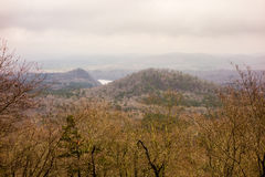 Uwharrie Mountain range in north carolina Stock Images