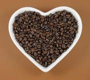 uwielbiam kawę Fotografia Stock