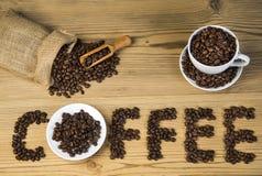 uwielbiam kawę zdjęcia stock