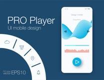 UX ακουστικά πρότυπα φορέων διανυσματική απεικόνιση