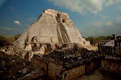 uxmal的墨西哥 免版税图库摄影
