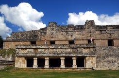 uxmal的墨西哥 库存照片