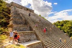 Uxmal, μια αρχαία πόλη της Maya της κλασσικής περιόδου Στοκ Εικόνες
