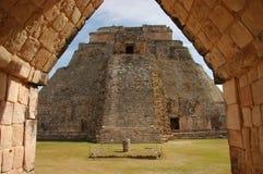 Uxmal, Мексика Стоковые Фотографии RF
