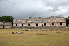 Uxmal ancient Mayan site, Mexico Royalty Free Stock Photo