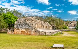 Uxmal, an ancient Maya city of the classical period in present-day Mexico. Uxmal, an ancient Maya city of the classical period. UNESCO world heritage in Mexico royalty free stock photography