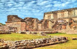 Uxmal, an ancient Maya city of the classical period in present-day Mexico. Uxmal, an ancient Maya city of the classical period. UNESCO world heritage in Mexico royalty free stock photo