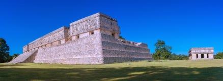 Uxmal - ancient Maya city. Yucatan, Mexico. Ruins of Uxmal - ancient Maya city. Yucatan, Mexico royalty free stock photo