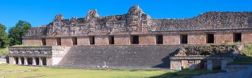 Uxmal - ancient Maya city. Yucatan, Mexico. Ruins of Uxmal - ancient Maya city. Yucatan, Mexico royalty free stock photos
