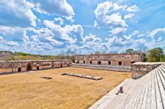 Uxmal ancient mayan city, Yucatan, Mexico Stock Photography