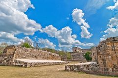 Uxmal ancient mayan city, Yucatan, Mexico Royalty Free Stock Photos