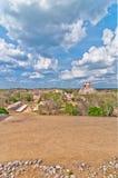 Uxmal ancient mayan city, Yucatan, Mexico Stock Images