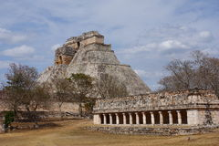 Uxmal Architektur stockfotos