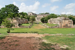 Uxmal Ball Game Yucatan Mexico Stock Photos