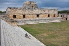 Uxmal - geistige Mitte des Mayas Lizenzfreie Stockfotografie
