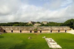 Uxmal IV. Mayan archaeological site of uxmal, located in yucatan, mexico stock images