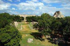Uxmal, México Imagens de Stock Royalty Free