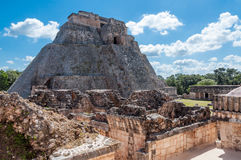 Uxmal Majskie ruiny, Meksyk Fotografia Stock