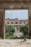 Uxmal Maya City Royalty Free Stock Photo