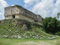 Uxmal Maya Ruins Casa del Gobernador Mexico Stock Photo