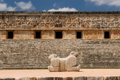 Uxmal Maya ruins in ucatan, exico Royalty Free Stock Photography