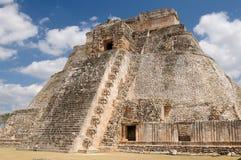 Uxmal Maya ruins in ucatan, exico Royalty Free Stock Image