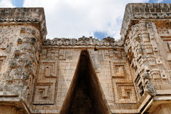 Uxmal Maya ruins in Yucatan, Mexico Royalty Free Stock Photo