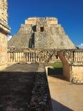 Uxmal, mayan art. Stock Afbeeldingen