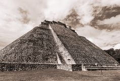 Uxmal Royalty Free Stock Photo