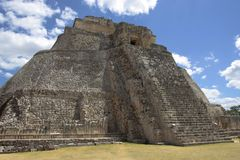 Uxmal mayan ruins Stock Photography