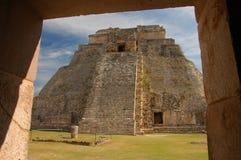 Uxmal, Messico Fotografia Stock