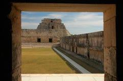 Uxmal, Mexico Stock Afbeelding