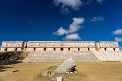 Uxmal, Mexico. Governor Palace Royalty Free Stock Images
