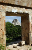 Uxmal, Mexiko Stockbild
