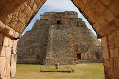 Uxmal, Mexiko Lizenzfreie Stockfotos