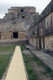 Uxmal, Mexique Photo stock