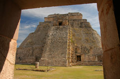 Uxmal, Mexique Photographie stock