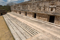 Uxmal,nunnery quadrangle, the west building Stock Photography