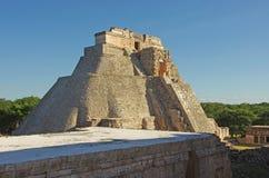 Uxmal pyramid Royalty Free Stock Images