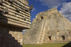 Uxmal Ruinas Стоковое фото RF
