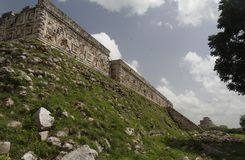 Uxmal Ruins Casa del Gobernador Mexico Royalty Free Stock Image