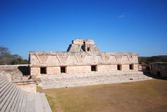 Uxmal ruins, Mexico Royalty Free Stock Photography