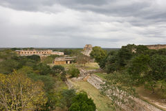 Uxmal - spiritual center of Maya Stock Photos