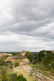 Uxmal - spiritual center of Maya Royalty Free Stock Image