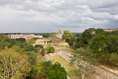 Uxmal - spiritual center of Maya Royalty Free Stock Photography