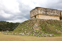 Uxmal - spiritual center of Maya Royalty Free Stock Photo