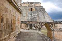 Uxmal - spiritual center of Maya Stock Photography