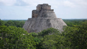 Uxmal, Yucatan, Mexico Stock Photography